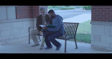 Smith and Mau share a scene in Fatherless