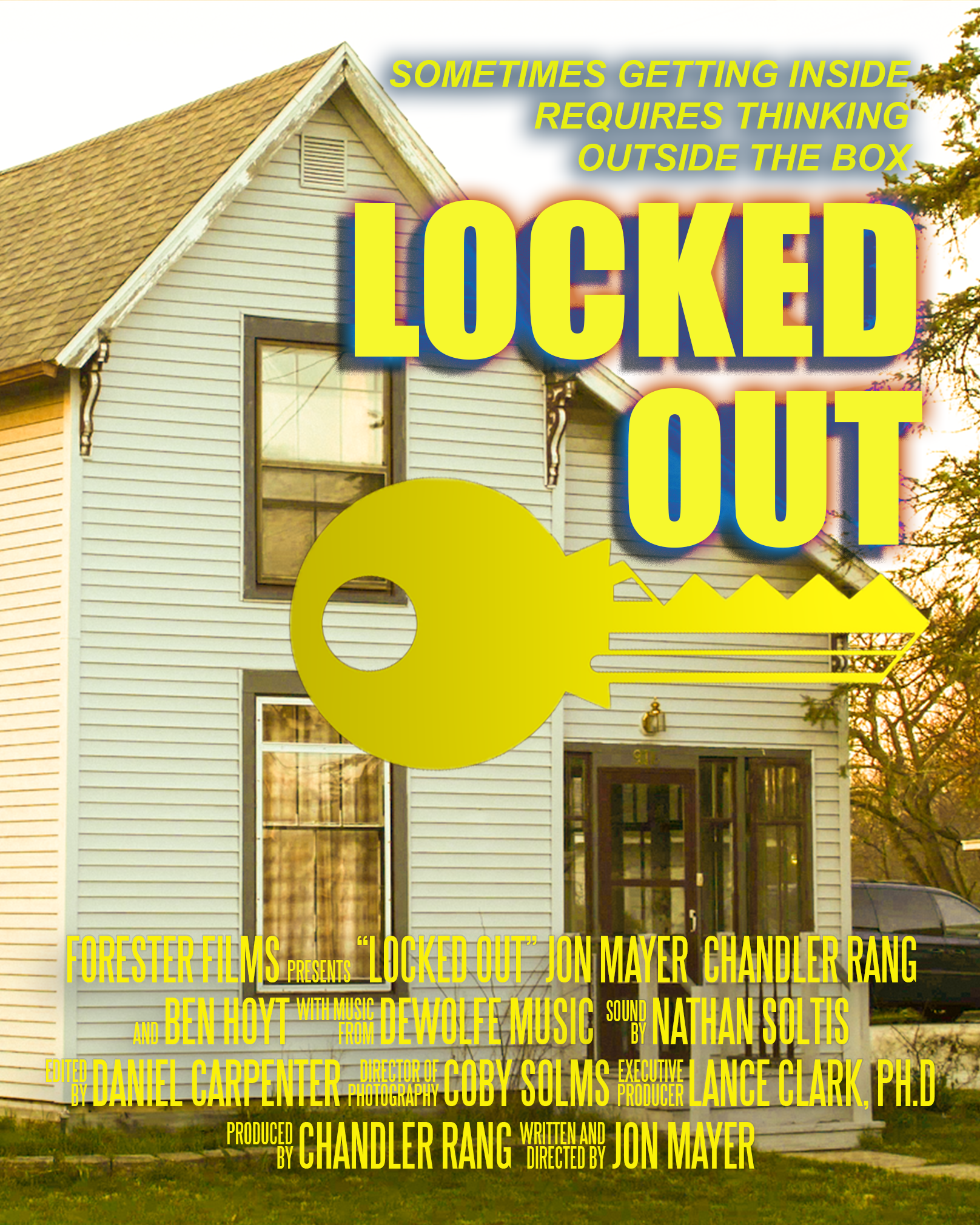 Locked Out Poster Export